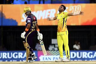 CSK vs KKR 23rd Match IPL 2019 Highlights