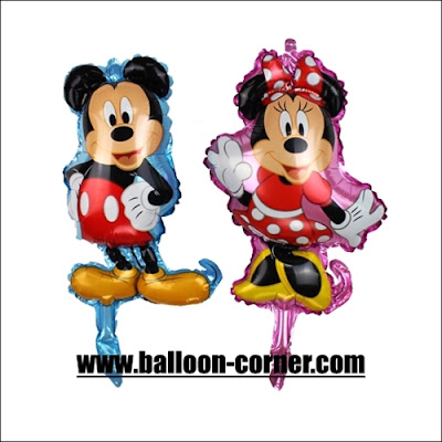 Balon Foil Mickey Mouse & Minnie Mouse Mini