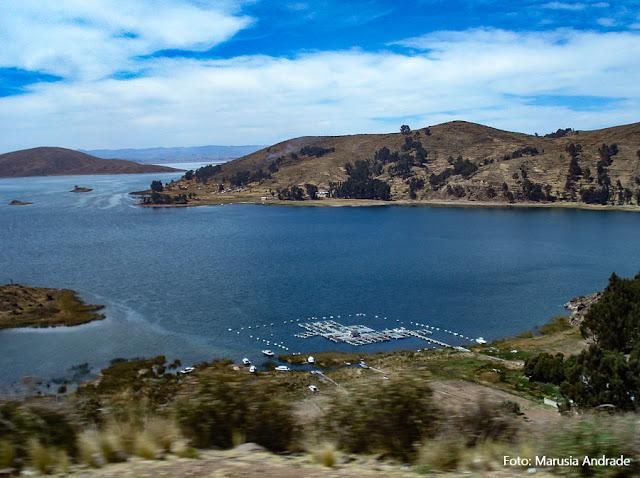 Estreito de Tikina, Lago Titicaca, Bolívia
