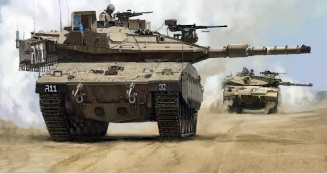 إنقلاب دبابه اسرائيلية فى غور الأردن