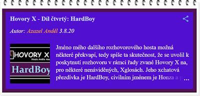 Hovory X - HardBoy