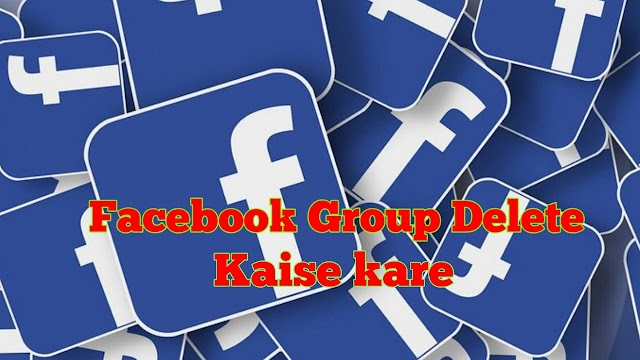 Facebook Group Delete kaise kare - How to Delete Facebook Group