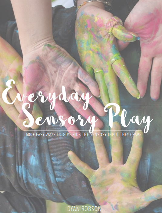 Everyday sensory play ebook