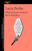 Portada de Manual para mujeres de la limpieza de Lucia Berlin