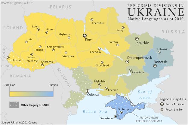 besetzte gebiete ukraine