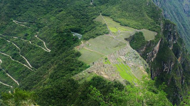 Machu Picchu vista de Huayna Picchu