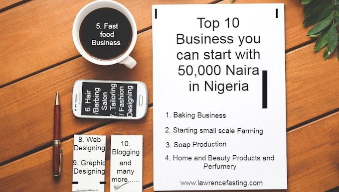 Top 10 Business you can start with 50,000 Naira in Nigeria