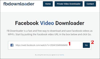 Cara Download Video Facebook di PC - 2
