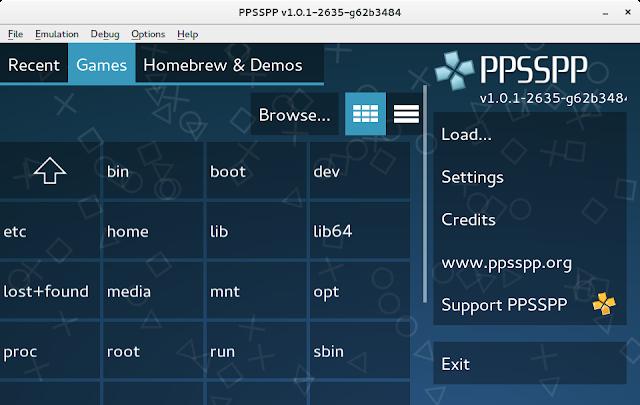Cara Mengatasi PPSSPP yang Nge-Blank / Blackscreen
