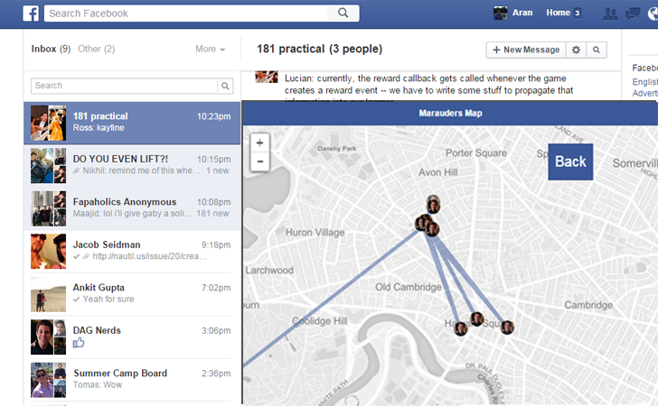 This Facebook Hack Allows You to Track Your Friends On Map