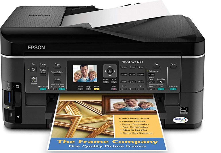Epson Workforce 630 Driver Downloads for windows 7 64 bit