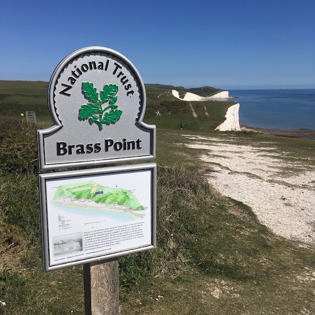 Brass Point on Seven Sisters cliffs