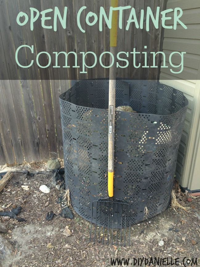 The Most Affordable Method of Composting: The Open Compost Bin.