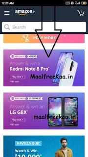 Mi Quiz Redmi Note 8 Pro