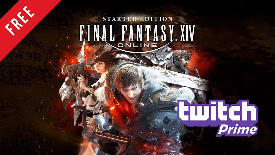 final fantasy 14 online starter edition free pc game twitch prime 2014 massively multiplayer online role-playing game mmorpg square enix