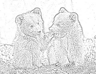 bear coloring pages holiday.filminspector.com