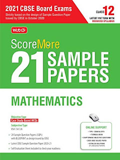 MTG Score More 21 Sample Papers For CBSE Board Exam 2021[PDF]