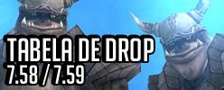 Lista de drop WYD
