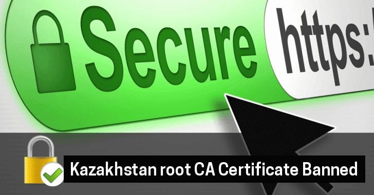 Kazakhstan root CA Certificate