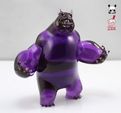 Grape Panda King III Mini Resin Figure by Woes Martin x Silent Stage Gallery