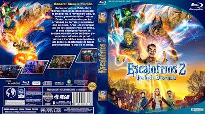 CARATULA ESCALOFRIOS 2 - GOOSEBUMPS 2 - PESADILLAS 2 - 2018 [COVER DVD]