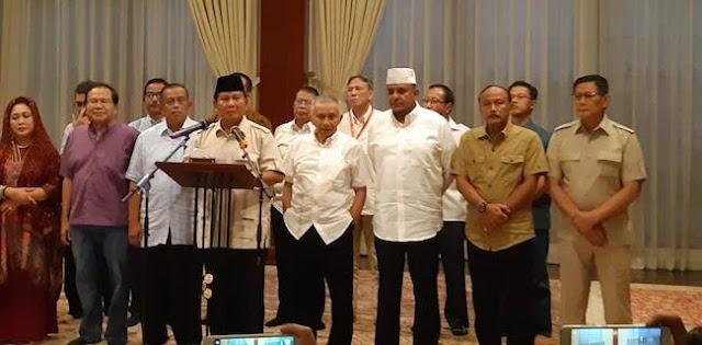 Prabowo Anggap Penetapan Tersangka UBN sebagai Kriminalisasi Ulama