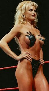 Brock Lesnars Wife Rena Marlette Lesnar From Her Wwe Days