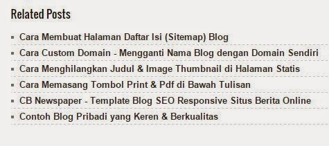 Related Posts di Bawah Posting Blog