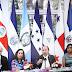 Presidentes de centroamérica sostuvieron una videoconferencia sobre el Coronavirus.