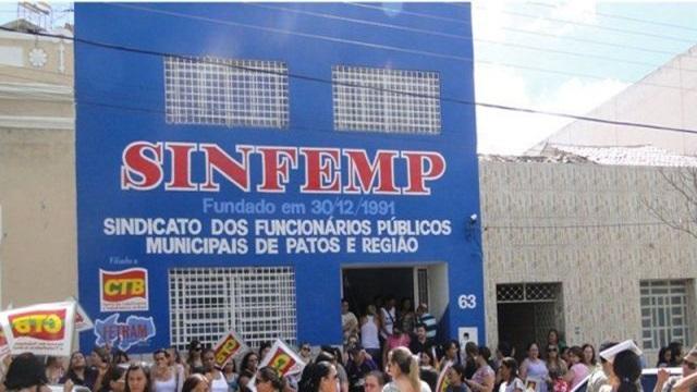 SINFEMP afirma que a cada dia o prefeito e a Câmara de Patos se tornam mais perversa com os servidores públicos municipais