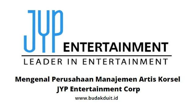 Gambar Logo JYP Entertainment Corp