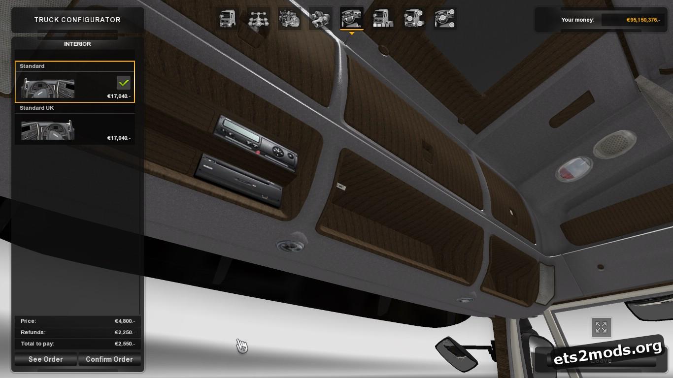 Luxury Wood Interior for Iveco Hi Way