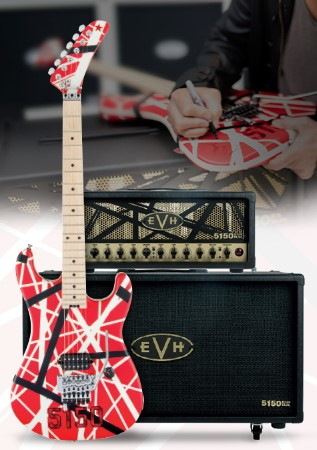 Eddie Van Halen Holiday Sweepstakes
