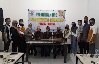 Perserikatan Bumdes Indonesia Provinsi Lampung Dilantik