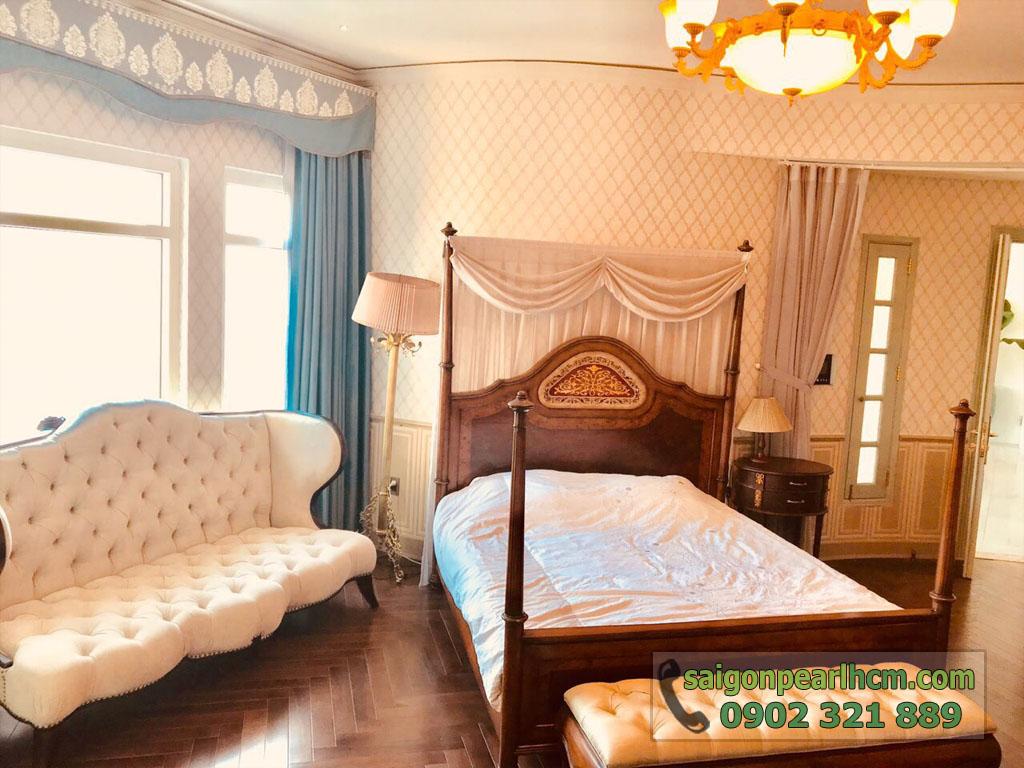 Penthouse cực đẹp và sang trọng tại Saigon Pearl Shaphire cho thuê