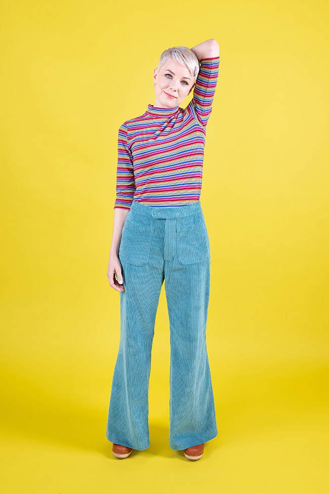Jessa trousers and shorts sewing pattern