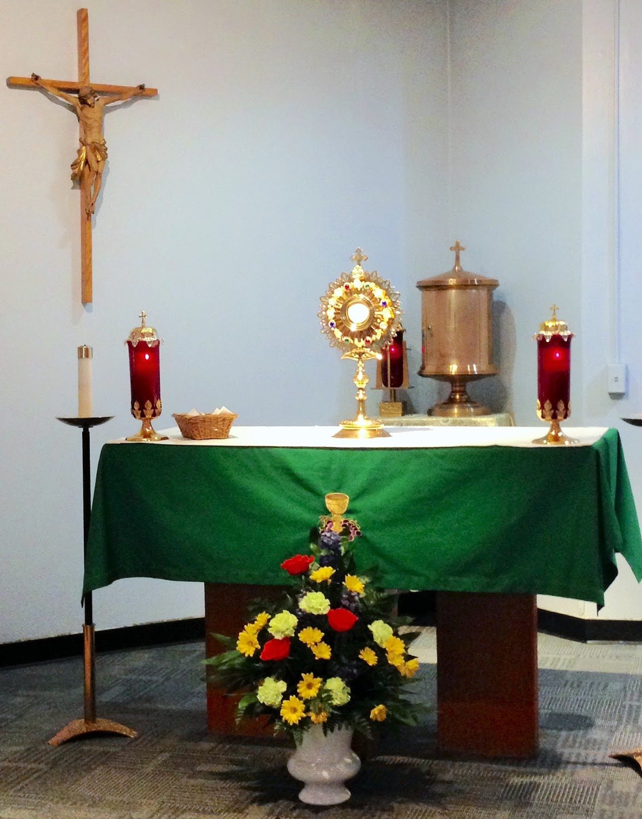 to volunteer please fill out and submit the form on the page entitled eucharistic adoration on this website someone will contact you thank you
