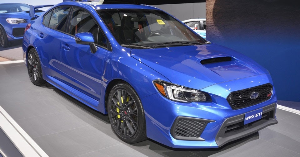 2018 subaru wrx and wrx sti look the same but are more capable. Black Bedroom Furniture Sets. Home Design Ideas