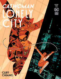 Catwoman: Lonely City #1 - Cover