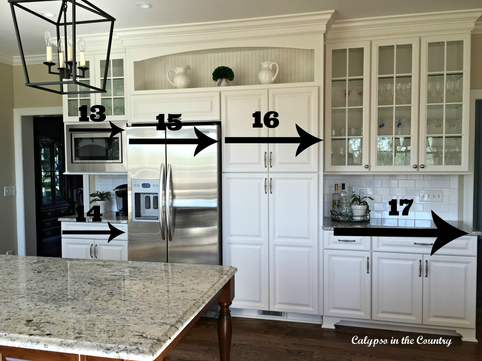 Refrigerator Wall Measurements and other important dimensions