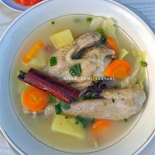 Ide Resep Masak Sup Ayam Kampung