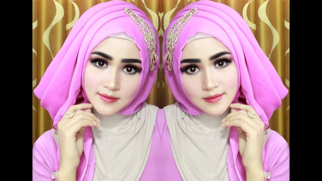 model jilbab pesta ala dian pelangi