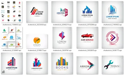 تحميل 50 شعار إحترافي عينة من مكتبة الشعارات العملاقة2 - هارد المصمم العملاق