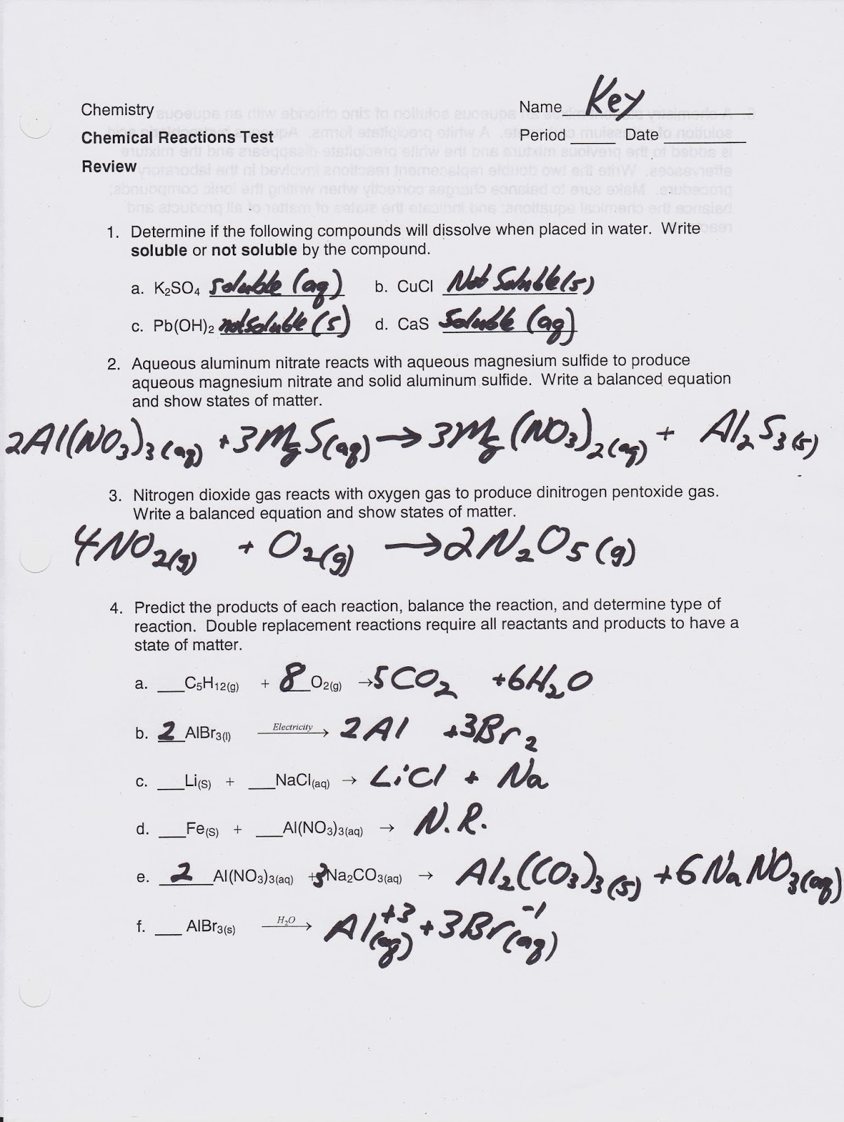 Worksheet Types Of Chemical Bonds Worksheet Answers
