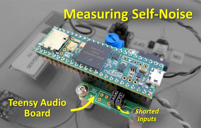 Open Audio: Teensy Audio Board Self-Noise