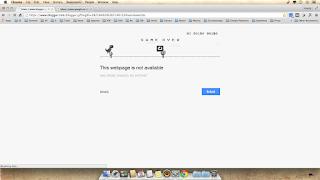 Main Game Di Google Chrome Ketika Koneksi Internet Error