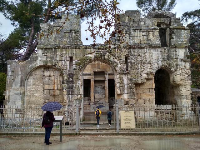 Entrada al Temple de Diana
