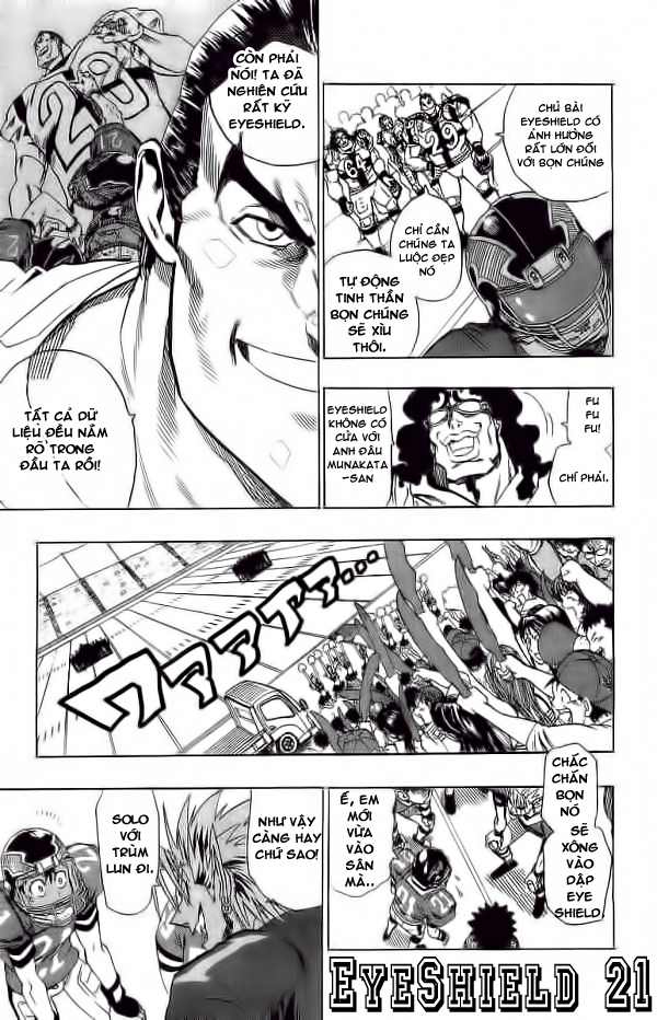 Eyeshield 21 chapter 98 trang 5
