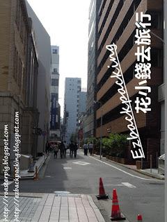 東京證券交易所的路上