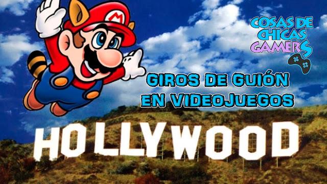 VIDEOJUEGOS CON GIROS DE GUIÓN